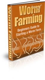 Worm Farming eBook with Private Label Rights