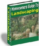 Homeowners Guide To Landscaping eBook with Resell Rights