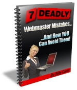 7 Deadly Webmaster Mistakes eBook with Personal Use Rights
