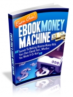 Ebook Money Machine eBook with Master Resale Rights