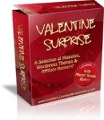 Valentines Surprise Graphic with Master Resale Rights