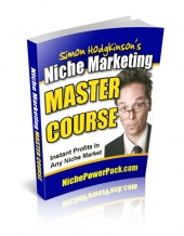 Niche Marketing Master Course eBook with Resell Rights