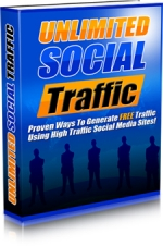 Unlimited Social Traffic eBook with Master Resale Rights
