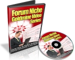 Forum Niche Goldmine Video with Resale Rights