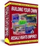 Building Your Own Resale Rights Empire eBook with Resell Rights