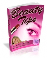 Beauty Tips eBook with Master Resale Rights