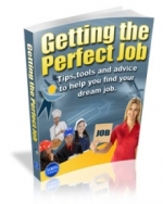 Getting The Perfect Job eBook with Master Resale Rights