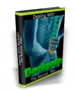 Dealing With Backpain The Natural Way eBook with Master Resale Rights
