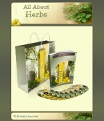 All About Herbs Minisite Graphic with Personal Use Rights