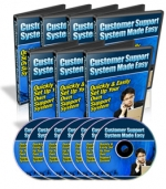 Customer Support System Made Easy Video with Master Resale Rights