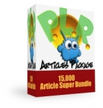 Monster PLR Articles Package Gold Article with Private Label Rights