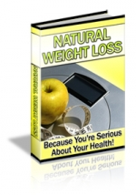 Natural Weight Loss eBook with Master Resale Rights