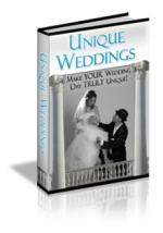 Unique Weddings eBook with Master Resale Rights