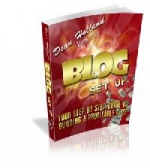 Blog Setup eBook with Giveaway Rights
