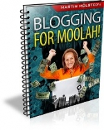 Blogging For Moolah! eBook with Giveaway Rights