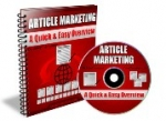 Article Marketing - A Quick & Easy Overview eBook with Giveaway Rights