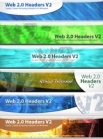 Web 2.0 Headers V2 Graphic with Personal Use Rights