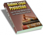 Online Legal Protection eBook with private label rights