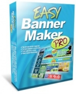 Easy Banner Maker Pro Graphic with Personal Use Rights