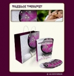 Massage Therapist Minisite Graphic with Personal Use Rights