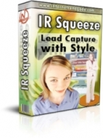 IR Squeeze - Lead Capture With Style Graphic with Private Label Rights