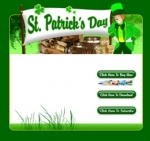 St. Patrick's Day Template 1 Graphic with Private Label Rights