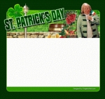 St. Patrick's Day Template 2 Graphic with Private Label Rights