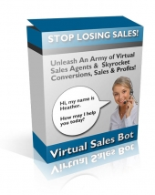 Virtual Sales Bot Software with Resale Rights