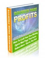 Squeeze Page Profits eBook with Master Resale Rights