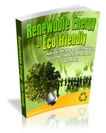 Renewable Energy - Eco Friendly eBook with private label rights