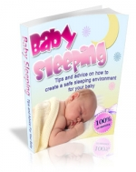 Baby Sleeping eBook with Master Resale Rights