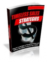 Timeless Sales Strategies eBook with Private Label Rights