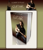 Learn To Play Guitar Minisite Graphic with Personal Use Rights
