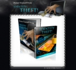 Protect Yourself From Identity Theft Minisite Graphic with Personal Use Rights