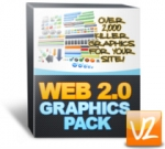 Web 2.0 Graphics Pack V2 Graphic with Personal Use Rights