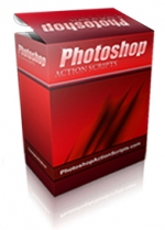 Photoshop Action Scripts Software with private label rights