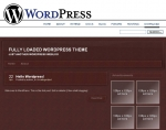 Wordpress Theme - Leather Graphic with Personal Use Rights