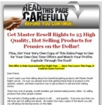 3 OTO Templates Packs Graphic with Master Resale Rights