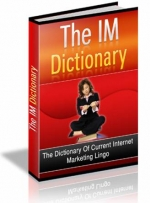 The IM Dictionary eBook with Master Resale Rights