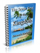 The Seven Keys To The Kingdom Of Network Marketing eBook with Resale Rights