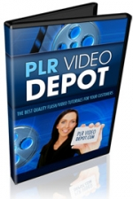 PLR Video Depot Bonus Video with Personal Use Rights