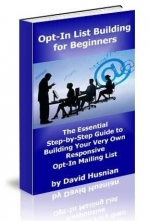 Opt-In List Building for Beginners eBook with Master Resale Rights