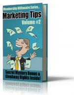 Membership Millionaire Series Marketing Tips Volume #2 eBook with Giveaway Rights
