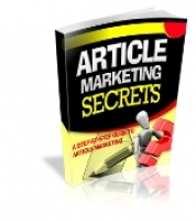 Article Marketing Secrets eBook with Private Label Rights