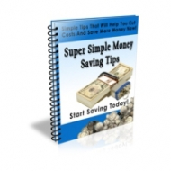 Super Simple Money Saving Tips eBook with Private Label Rights