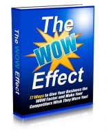 The WOW Effect eBook with Master Resale Rights