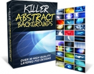 Killer Abstract Backgrounds Graphic with Personal Use Rights