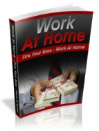 Work At Home eBook with Private Label Rights