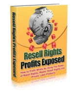 Resell Rights Profits Exposed eBook with Giveaway Rights