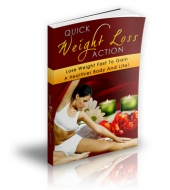 Quick Weight Loss Action eBook with Master Resale Rights